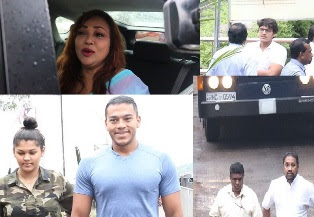 Shiranthi Rajapaksa Visits Namal at Remand Prison