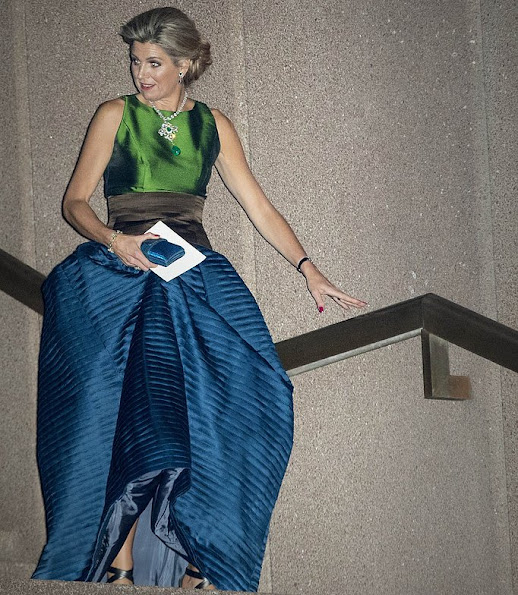 NATAN Couture Queen Maxima wore Natan Dress