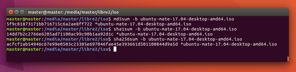 Ubuntu Buzz !: How To Verify A Ubuntu ISO Image Checksum