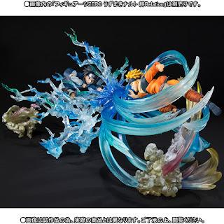 Set composto da Naruto Uzumaki e Sasuke Uchiha