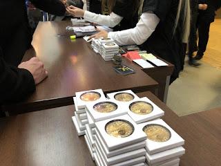 Регистрация участников EVENTA - Каждому в подарок сувенирная монета!