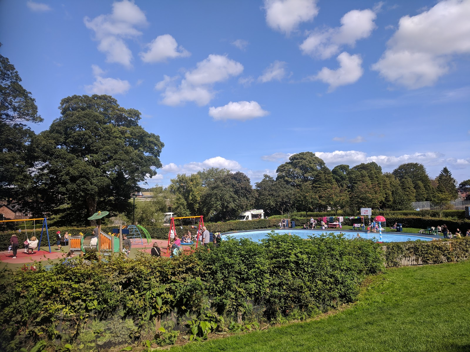 10 of the best family walks in North East England with a cafe and play park nearby - Carlisle Park Morpeth
