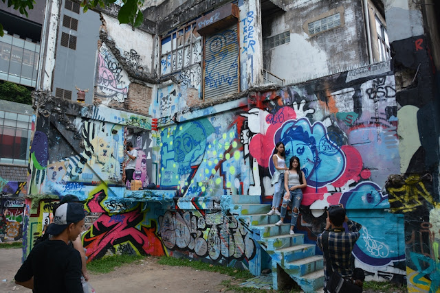 Graffiti playground Bangkok