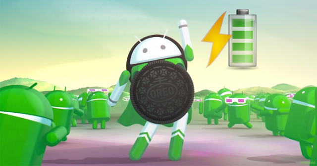 "Optimizes Android 8.0 ""Oreo"" battery to extend battery life"