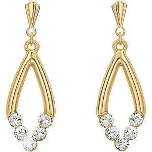 H Samuel Diamond Necklace And Earrings