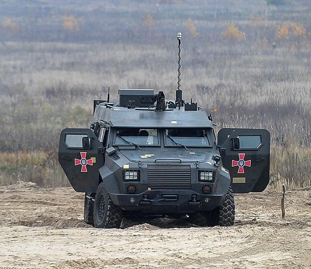 120-мм мобільний мінометний комплекс «Барс-8ММК» проходить державні випробування
