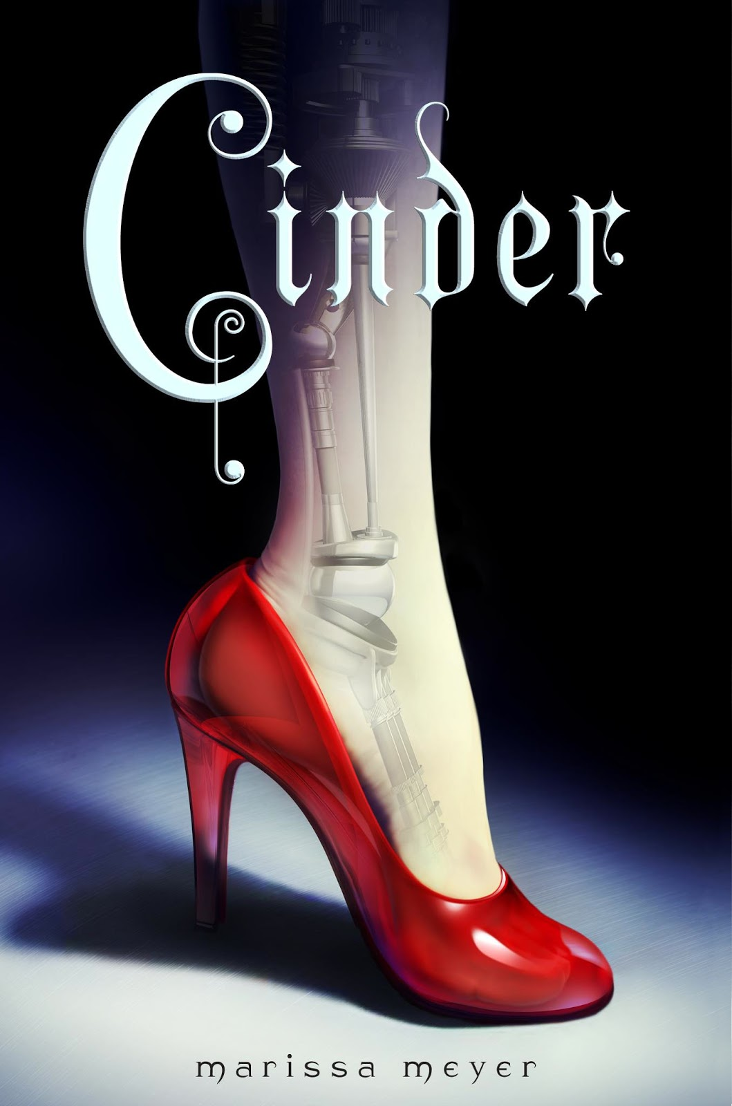 Cinder Marissa Meyer cover the lunar chronicles