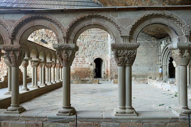 Claustro del Monasterio de san Juan de la Peña, Huesca