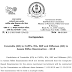 SSC Notice regarding implementation of Normalization in SSC Constable (GD) 2018 Exam