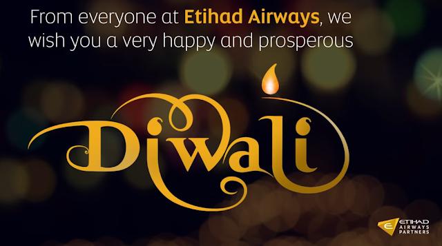 ETIHAD AIRWAYS CELEBRATES DIWALI IN THE SKY