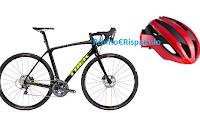 Logo Concorso Bormio #MyStelvio: vinci gratis bici da corsa Domane SL, caschi e non solo!