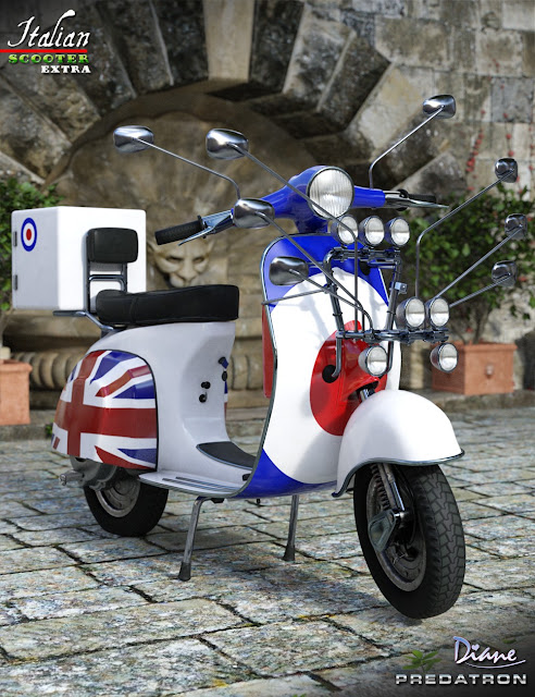 Italian Scooter Extras
