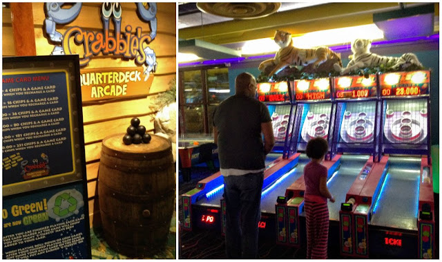 Crabbies Arcade at Castaway Bay