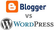 Perbandingan Blogger Vs Wordpress, Siapa yang Menang?
