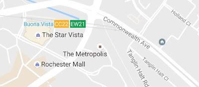 google map, the Metropolis