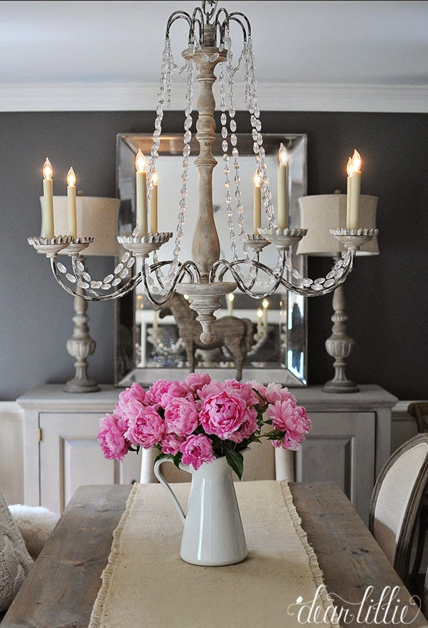 country dining room lighting | Dear Lillie: Happy Wednesday!