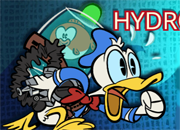 Donald Duck In Hydro Frenzy