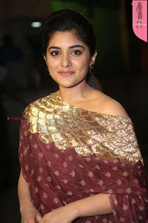 Niveda Thomas Looks Super cute at Zee Telugu Apasara Awards 2017