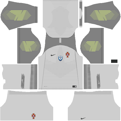 el rincón del dream league: uniforme de Portugal 2018