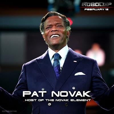 Samuel L. Jackson este Pat Novak în ROBOCOP