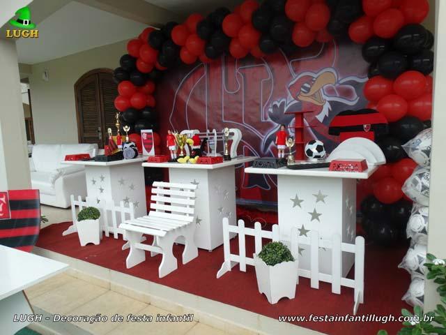 Flamengo, decoração festa de aniversário