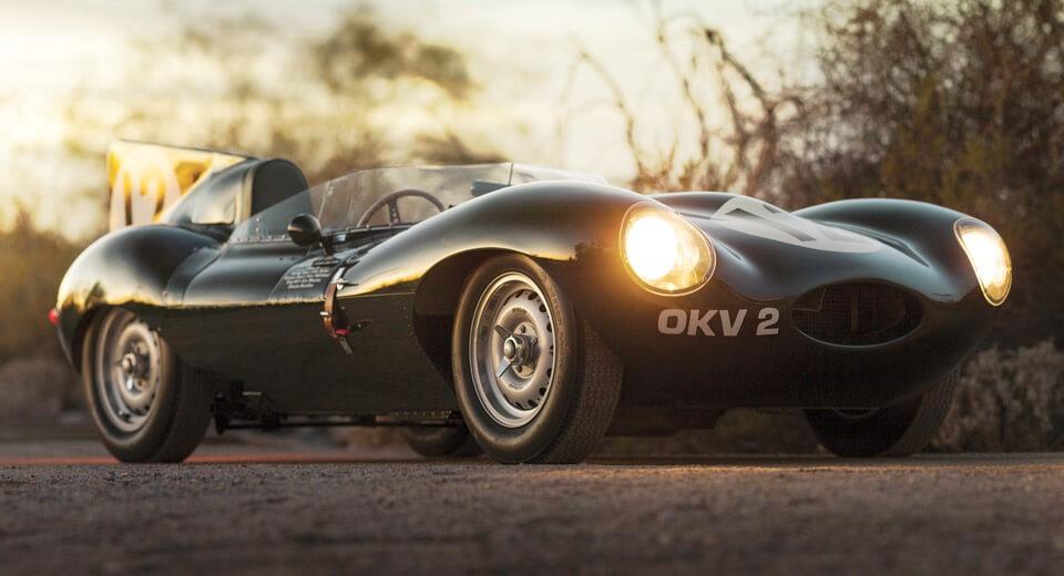 1954 Jaguar D-Type Le Mans Racer - MS+ BLOG
