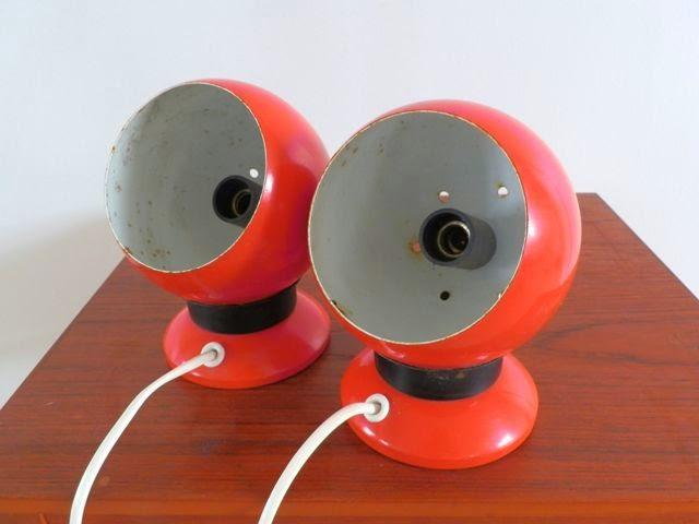 retro lamper Retro Furniture: Retro kugle maglamper retro lamper