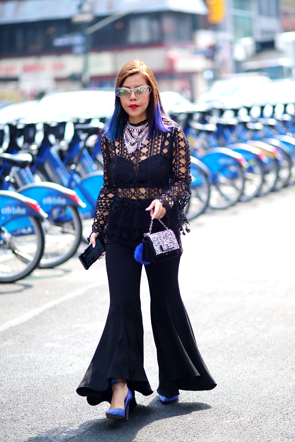 Crystal Phuong- New York Fashion Week 2016- Streetstyle day 3