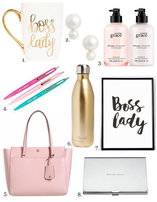 Gift Ideas for the Boss
