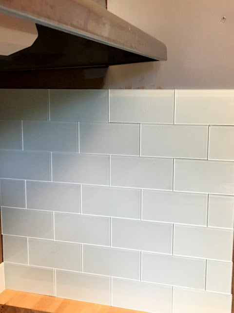 Tips on Installing Aspect Peel and Stick Glass Tile in a MCM Kitchen