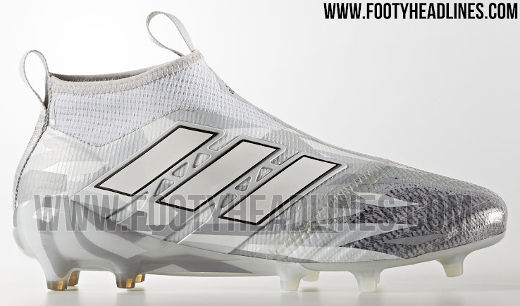 quality design cbb43 01413 This image shows the unique Adidas Ace 17+ PureControl soccer boots from  the Camouflage collection.