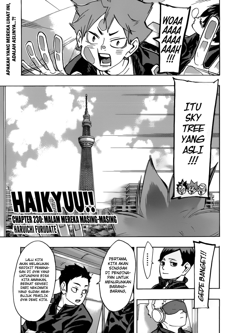 Haikyuu Chapter 230-2