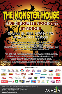 Manila Shopper Trick Or Treat Promo Halloween Parties