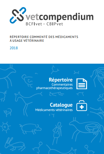 Repertoire Commenté Des Médicaments a Usage Veterinaire 2018 - WWW.VETBOOKSTORE.COM