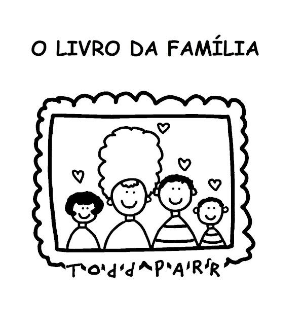 Menina Arteir Livro O Livro Da Familia Para Colorir