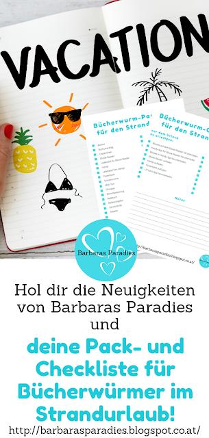 Bücherwürmer am Strand: 9 Tipps für einen gelungenen Urlaub - Pack- und Checkliste für Bücherwürmer im Strandurlaub