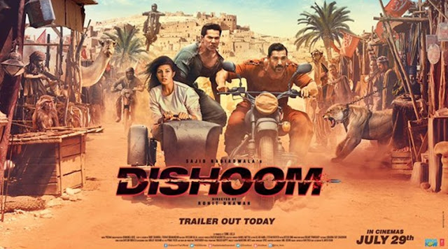 Dishoom , Dishoom movie , Dishoom poster