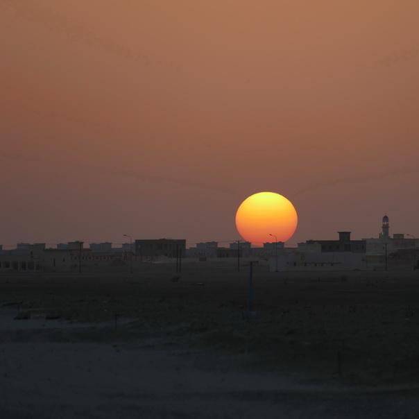 Sonnenuntergang, Haima, Wüste, Oman, Desert, Abend, Sonne