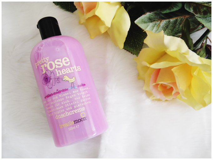 beauty | treaclemoon | pretty rose hearts | shower gel | duschcreme | more details on my blog http://junegold.blogspot.de | life & style diary from hamburg | #beauty  #treaclemoon #prettyrosehearts #showergel #duschcreme