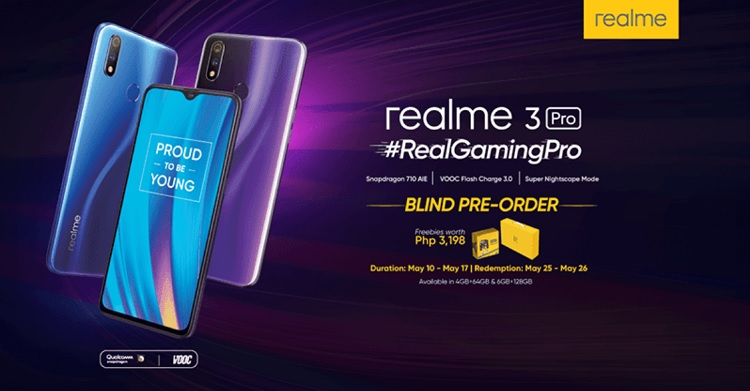 Realme 3 Pro Blind Pre-order Announced