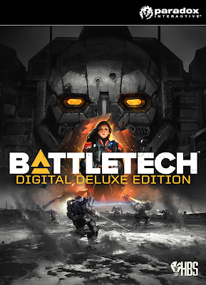 Battletech Game Cover PC Digital Deluxe