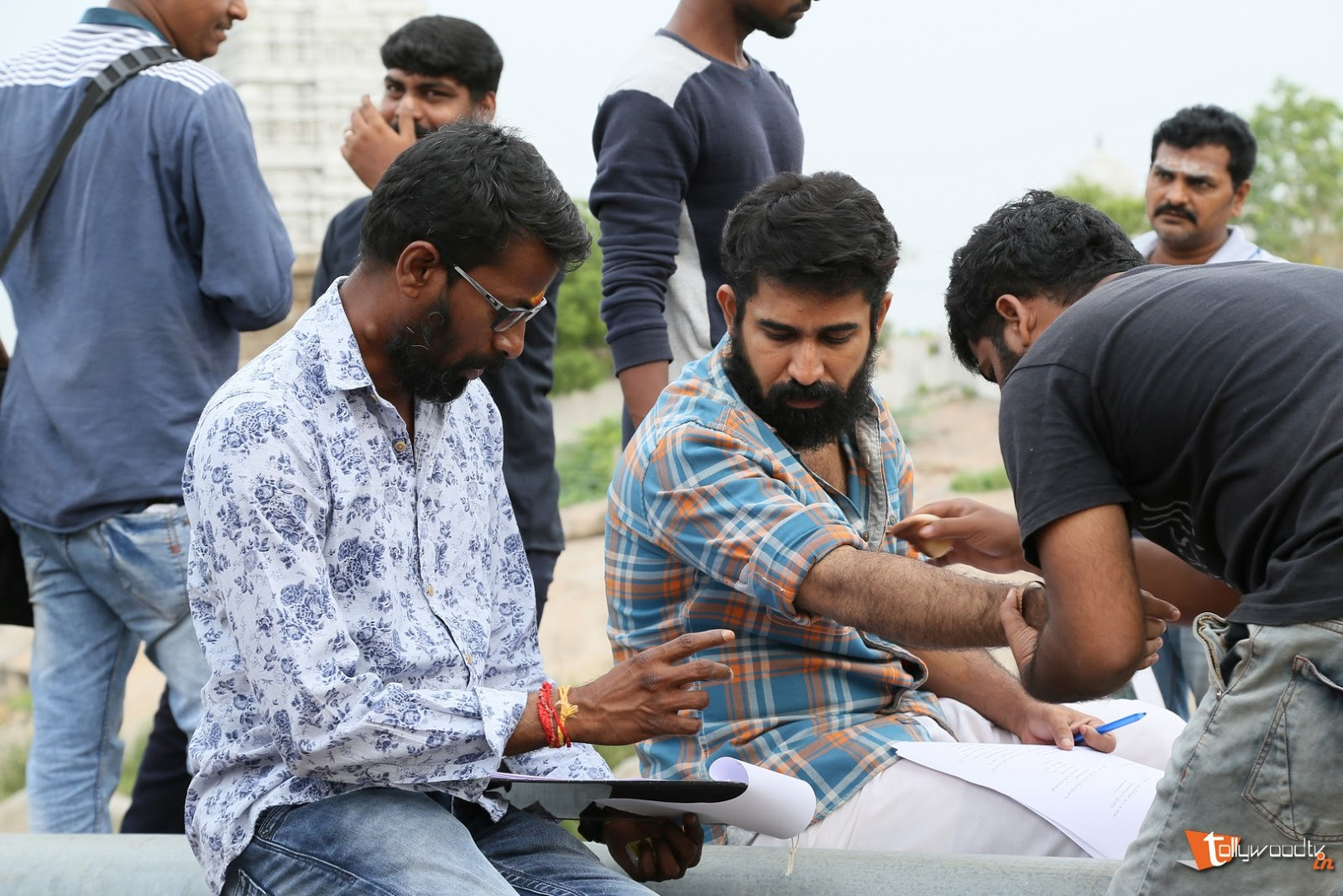 Indrasena Working Stills-HQ-Photo-6