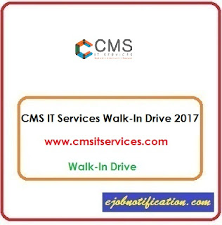 CMS IT Services Walk-In Freshers Hardware/Networking Jobs in Hyderabad 9th-14th Oct'2017