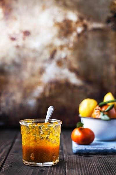 marmellata di mandarini alla vaniglia