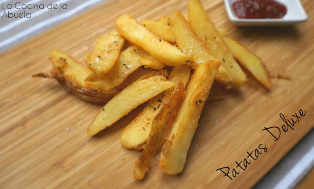Patatas Deluxe, como las del McDonald´s.