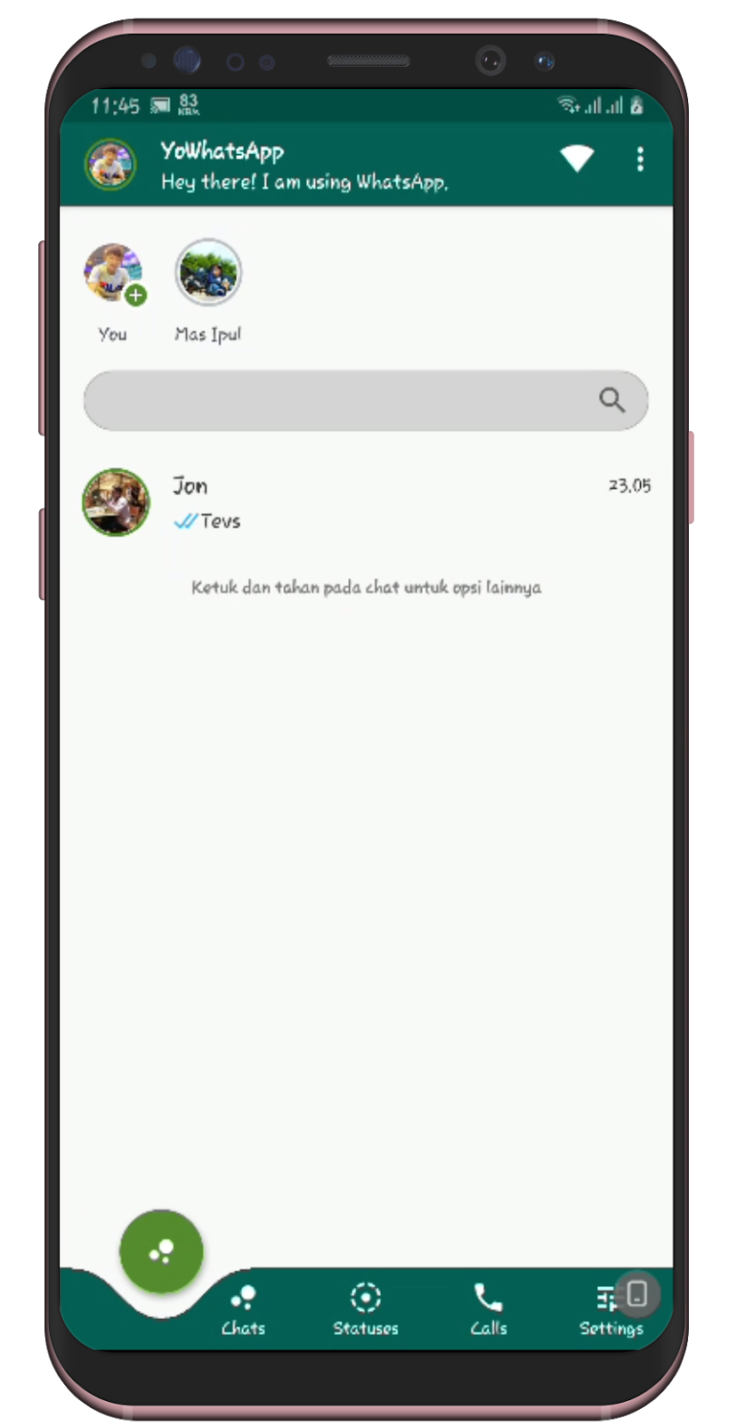 Download Gb Whatsapp Mod Apk V6 40 Latest Version