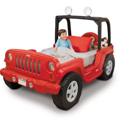 Jeep Toddler Bed