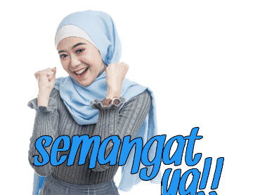 Sticker WhatsApp Hijaber Cantik