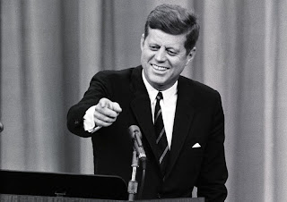 Image result for Picture of JFK at Press Conference
