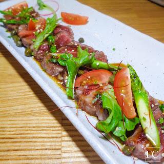 KOBE style beef tataki